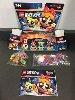 Lego Dimensions The Power Puff Girls Team pack 71346 COMPLETE With Box