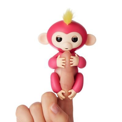Fingerlings ouistiti rose bébé singe interactif de 13cm