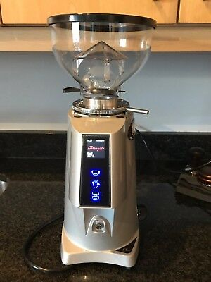 Fiorenzato F4 Nano Best Coffee Grinder - Silver - Barely Used