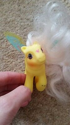 My Little Pony vintage g1 Summer Wings Little Flitter Flutter Pony Humming bird