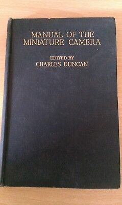 manual of the miniature camera by charles duncan-1943