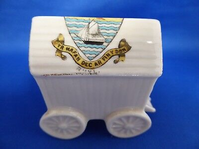 Victoria Crested China RHYL Bathing Machine 32