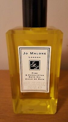 JO MALONE - PINE & EUCALYPTUS BATH OIL - 250ml - NEW & BOXED