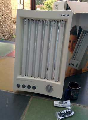 Philips Large Face Tanner Hb 311Sun Lamp Solarium Facial Studio Massive