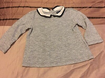 Gap Collared Jumper 12-18M
