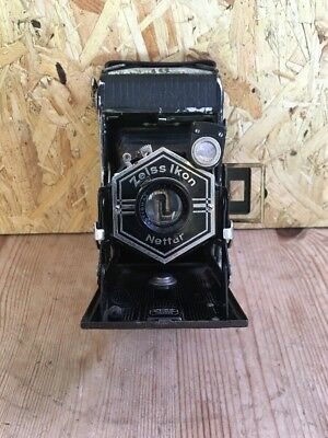 Vintage ZEISS IKON Nettar folding Camera 1:6,3 F=10.5cm
