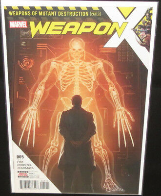 Weapon X #5 (1st Print) (W.M.D. Part 3) Weapon H NM Totally Awesome Hulk