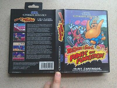 Toejam & Earl: Funkotron EMPTY BOX ONLY - For Sega Mega Drive Game (PAL)