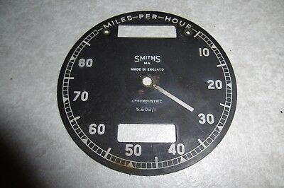 Original Smiths Chronometric Speedo Face