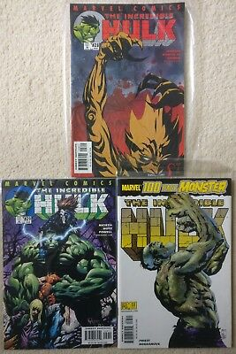 The Incredible Hulk #28 29 33 100 Page Special, 502 503 507, 2001, Marvel Comics