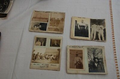 1919-20 Photographs SS Ascanius Cape Town SS Adriatic, Cycling in Carnoustie etc