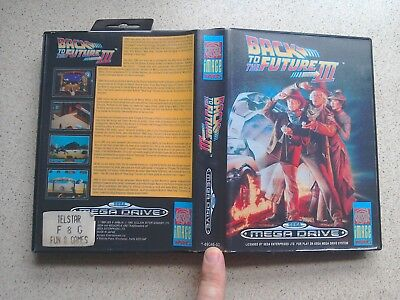 Back To The Future Part 3 EMPTY BOX ONLY - For Sega Mega Drive Game (PAL)