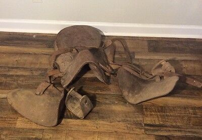 Authentic Antique Horse Saddle Rare Original