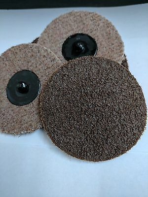 "3"" Roloc Surface Conditioning Coarse / Medium Combo Disc 25/pack"