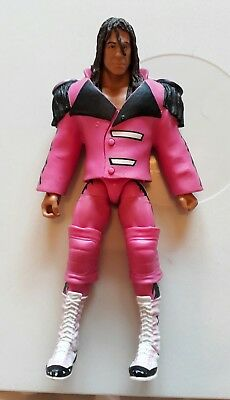 WWE wrestling figure ELITE BRET HART mattel HITMAN RINGSIDE EXCLUSIVE VERY RARE