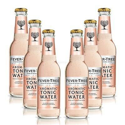 Fever-Tree Aromatic Tonic Water Set- 6x200ml = 1200ml