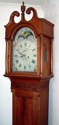 Rare Shenandoah Valley Tall Clock (George Kring, New Market,  1787-1827)