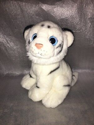 TY Wild~Wild~Best (INDIA) Tiger Cub 2011 Collection Boo - Blue Eyes RETIRED