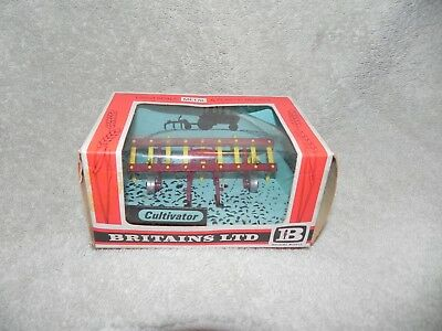 Britains 9536 CULTIVATOR Mint Boxed