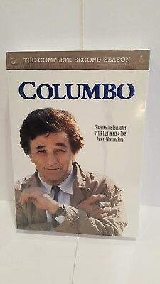Columbo ~ Complete 2nd Second Season 2 Two ~ BRAND NEW 4-DISC DVD SET