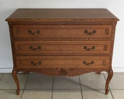 Chest of drawers Oak Louis XV,French style,Delivery possible, see description