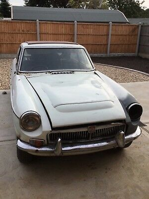 MGC GT coupe 1969 rhd restoration project manual with overdrive
