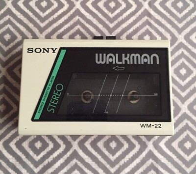 Sony Walkman WM-22. Cassette Player. Good Condition