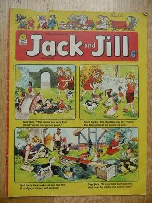 Collectible Vintage Jack and Jill Children's Comic  - 30th May 1964 - Fleetway