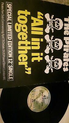 """The Pirates All In It Together/dr Feelgood 12"""" Special Ltd Edition Warner 1978"""