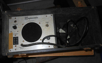 Magnecorder PT6-P Audio Amplifier Tube Triad PA Guitar Tape Microphone