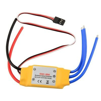 OCDAY 30a Brushless BEC ESC 450 Rc Helicopter Multicopter Motor Speed Controller