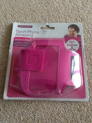 Sport Phone Armband For iPhone. 5 Pink Brand New