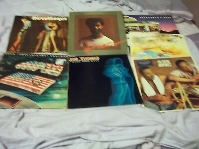 JOB LOT SOUL LP RECORDS x7 VINYLS
