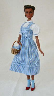 """15"""" DOROTHY OUTFIT w RUBY SLIPPERS shoes Wizard of Oz Judy Garland Gene JS"""