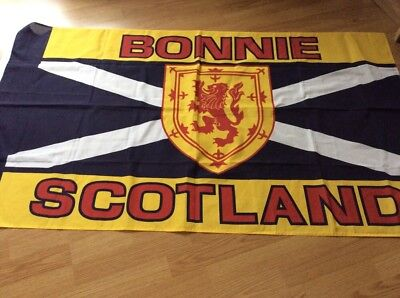Bonnie Scotland Large Flag