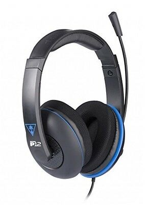 Turtle Beach Ear Force P12 Amplified Stereo Gaming Headset PS3,PS4,PC,Mac