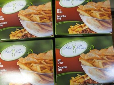 Ideal Protein Bbq Crisps (4 Boxes Of 7)