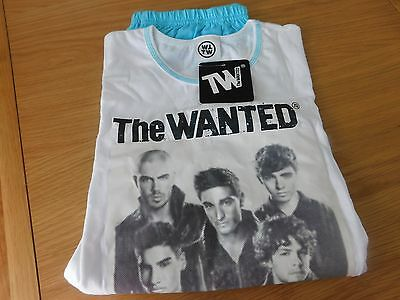 JOB LOT X25 The Wanted girls pj shorts set bnip's official merchandise age 9-10y
