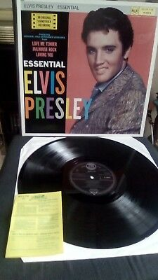 Elvis Presley ESSENTIAL ELVIS RCA PL 89979 FROM 1986  MINT CONDITION