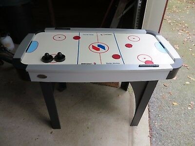 """Sportcraft 48"""" Air Hockey Table with 4 pucks and 2 paddles"""
