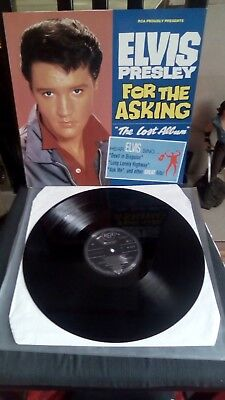 Elvis Presley FOR THE ASKING THE LOST ALBUM RCA NL 90513 1990  MINT CONDITION