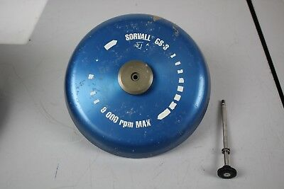 Sorvall Dupont GS-3 Rotor  9000 RPM Max - Laboratory Lab Centrifuge