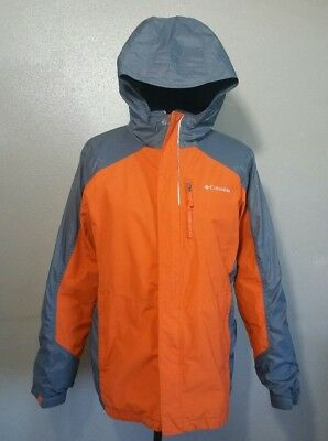 Youth Size XL 18-20 Orange Interchangeable Columbia Winter Jacket