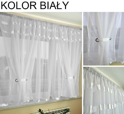 READY MADE Beautiful curtains net / FIRANY FIRANKI