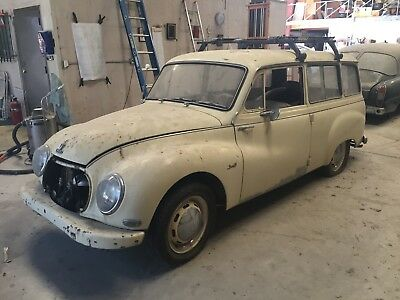 1957 Other Makes  1957 Auto Union Universal DKW Audi rare project wagon