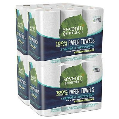 3,360 Sheets Strong Absorbent Eco Friendly Paper Towels, 100% Recycled Paper