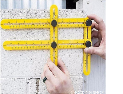 ProTra-Watcher Extreme Ruler - Multi-Angle Measuring Ruler MaxForm Easy Angle Ru