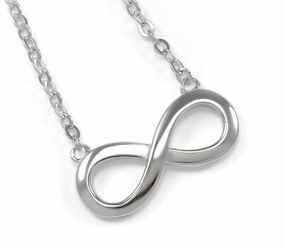 Sterling Silver Infinity Necklace- Infinity Fashion Jewelry | **New!!!