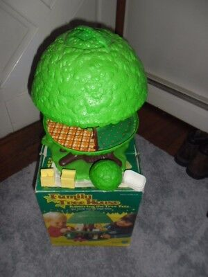 Vintage Kenner Tree Tots Family Tree House, not Fisher Price with original box!