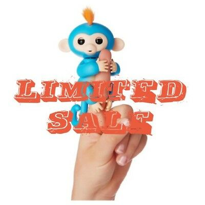 WowWee fingerlings Blue baby monkey BRAND NEW addition